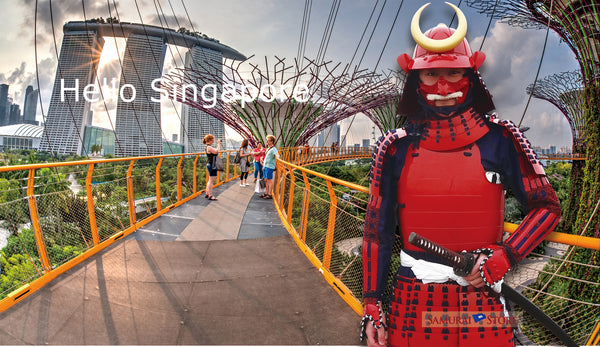Be A Samurai @ Gardens by the Bay SINGAPORE