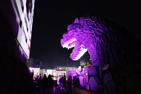 SAMURAI vs. GODZILLA @ Hotel Gracely Shinjuku