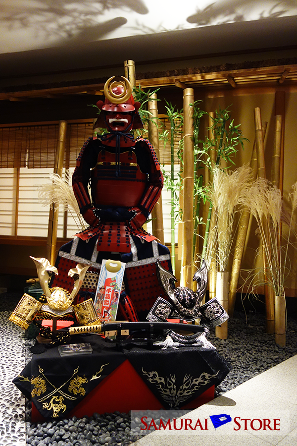 Samurai Store Display at ANA Intercontinental Tokyo