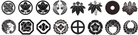 Crest List for Samurai Armor