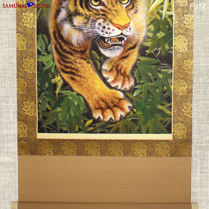 Hanging Scroll Painting TIGER - Kakejiku F012