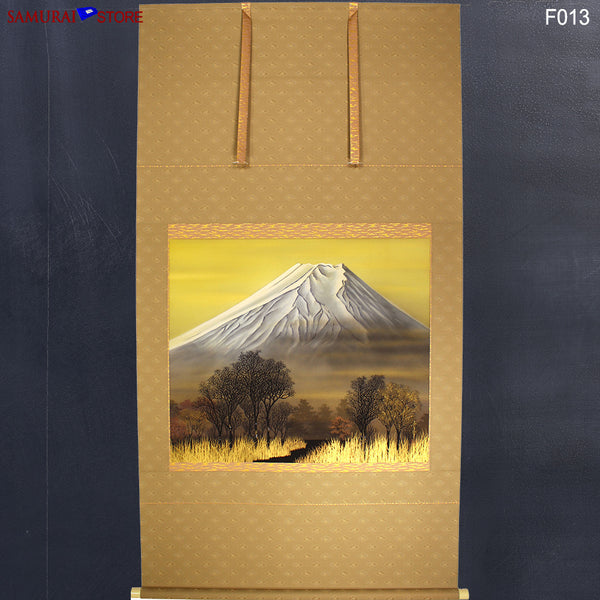 Hanging Scroll Painting MT FUJI - Kakejiku F013