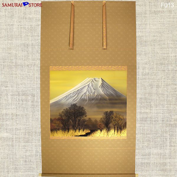 Hanging Scroll Painting MT FUJI - Kakejiku F013 - SAMURAI STORE