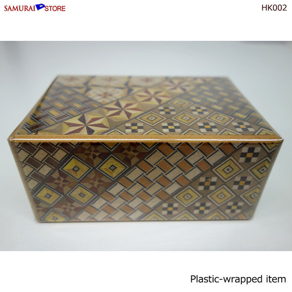 Yosegi Craft Puzzle Box 21 Steps (HK002)