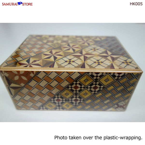 Yosegi Craft Puzzle Box 10 Steps (HK005) - [SAMURAI STORE]