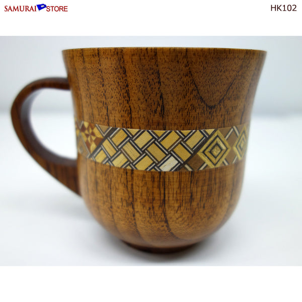 Yosegi Craft Mug Cup (HK102)
