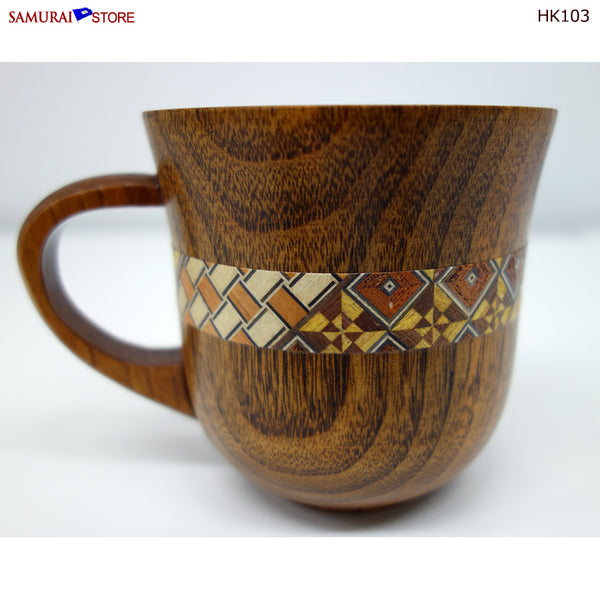 Yosegi Craft Mug Cup (HK103)