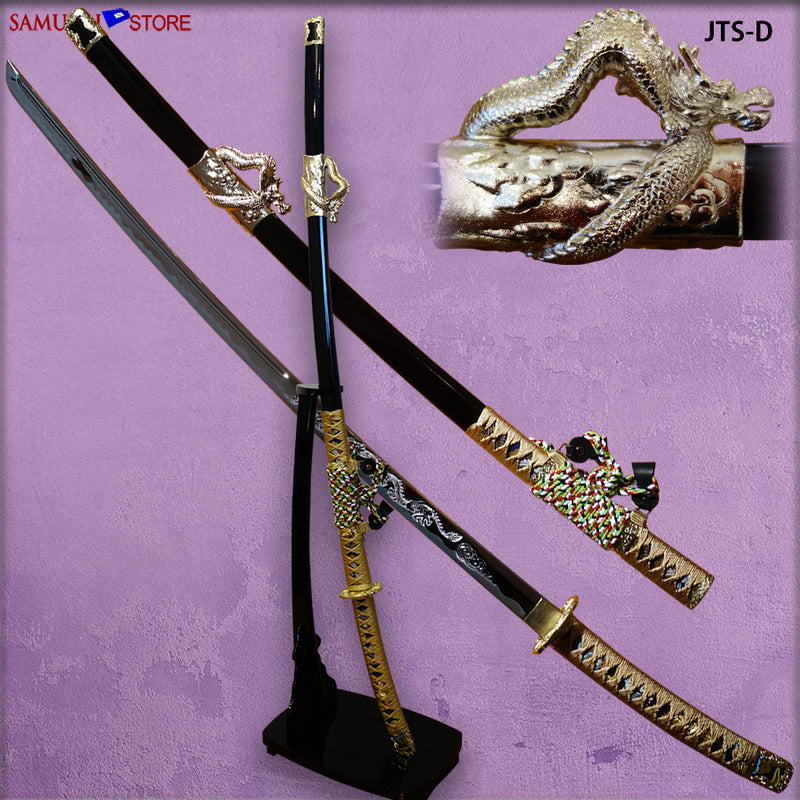 Jintachi Warlord Sword alloy blade w/ Dragon mountings