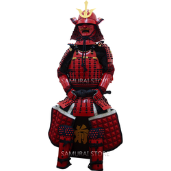 L004 Red Iyozane Armor