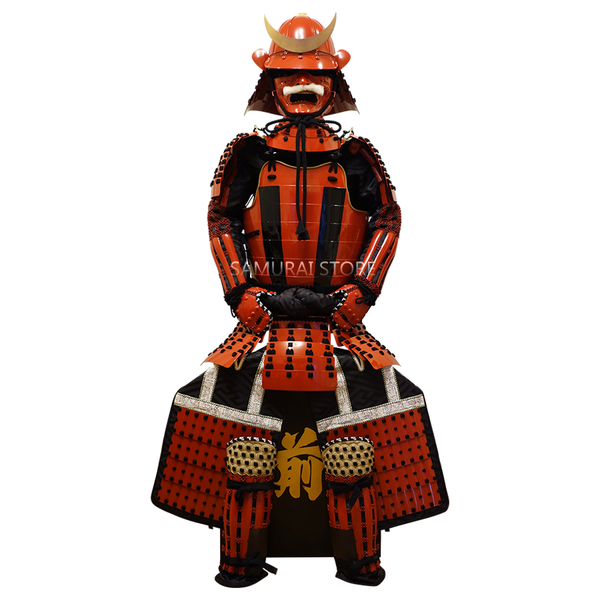 L005M Striped Nimaido Armor (Enhanced) - SAMURAI STORE