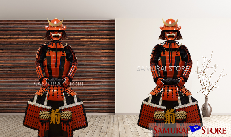 L005M Striped Nimaido Armor (Enhanced) - [SAMURAI STORE]