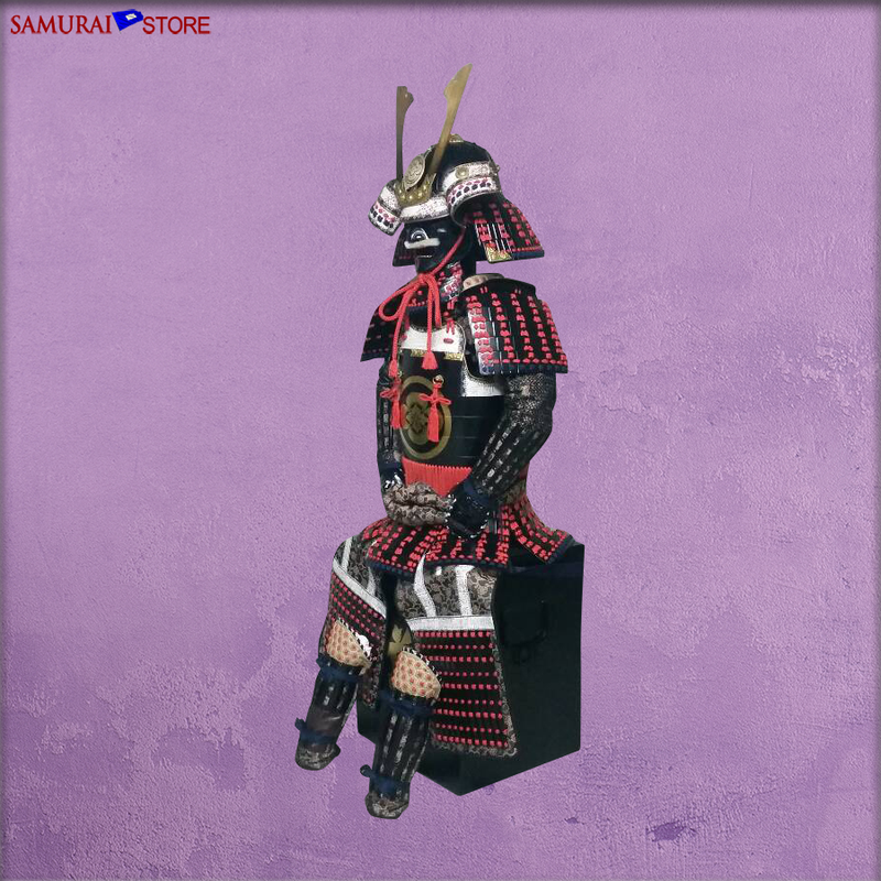 (Ready-To-Ship) L037R DOU-GEN Armor Red - SAMURAI STORE