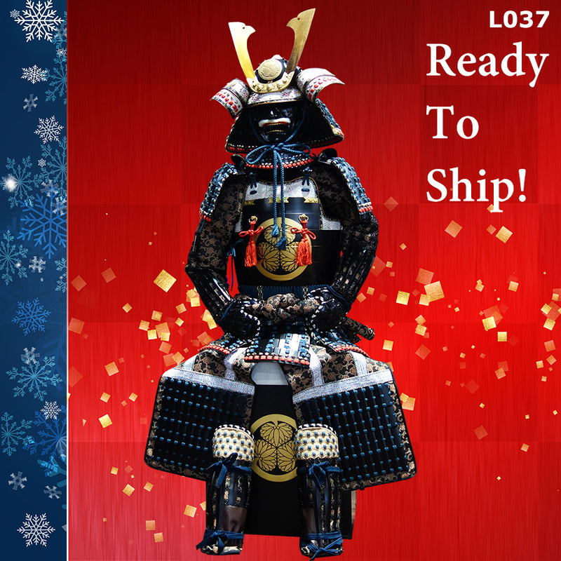 (Ready-To-Ship) L037 DOU-GEN Suit of Armor Life-Size *The Best-seller - [SAMURAI STORE]