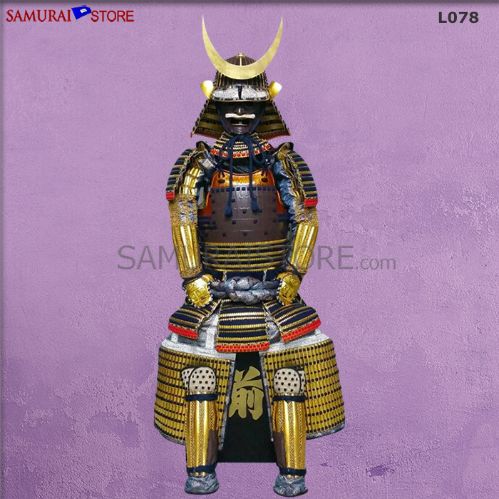 L078 Gilt Crescent Armor