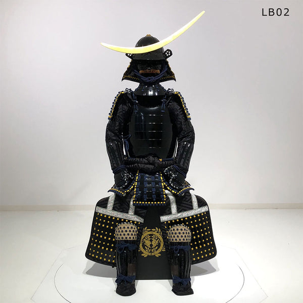 (Ready-To-Ship) LB02 Warlord MASAMUNE style Black Suit of Armor - SAMURAI STORE