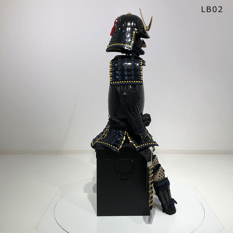 (Ready-To-Ship) LB02 Warlord MASAMUNE style Black Suit of Armor - [SAMURAI STORE]
