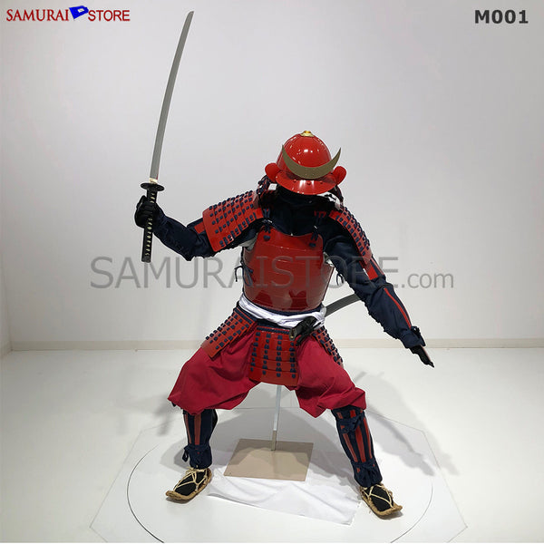 M001 Samurai Armor Warrior Complete Outfits Package RED