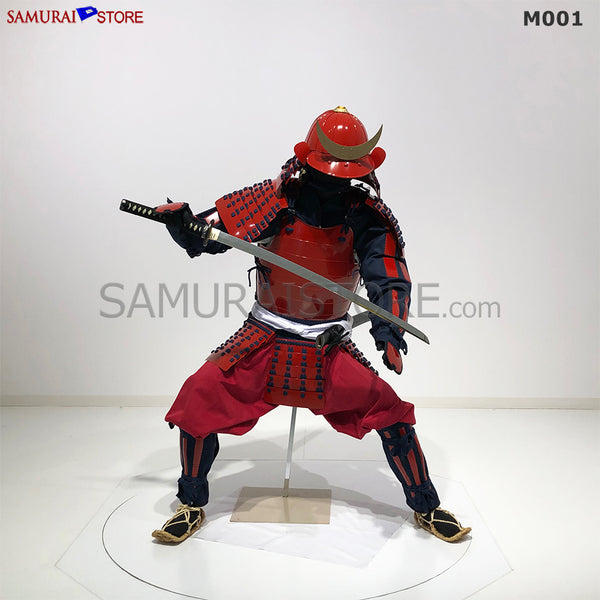 (Ready-To-Ship) M001 Samurai Warrior Complete Outfits Package RED - SAMURAI STORE