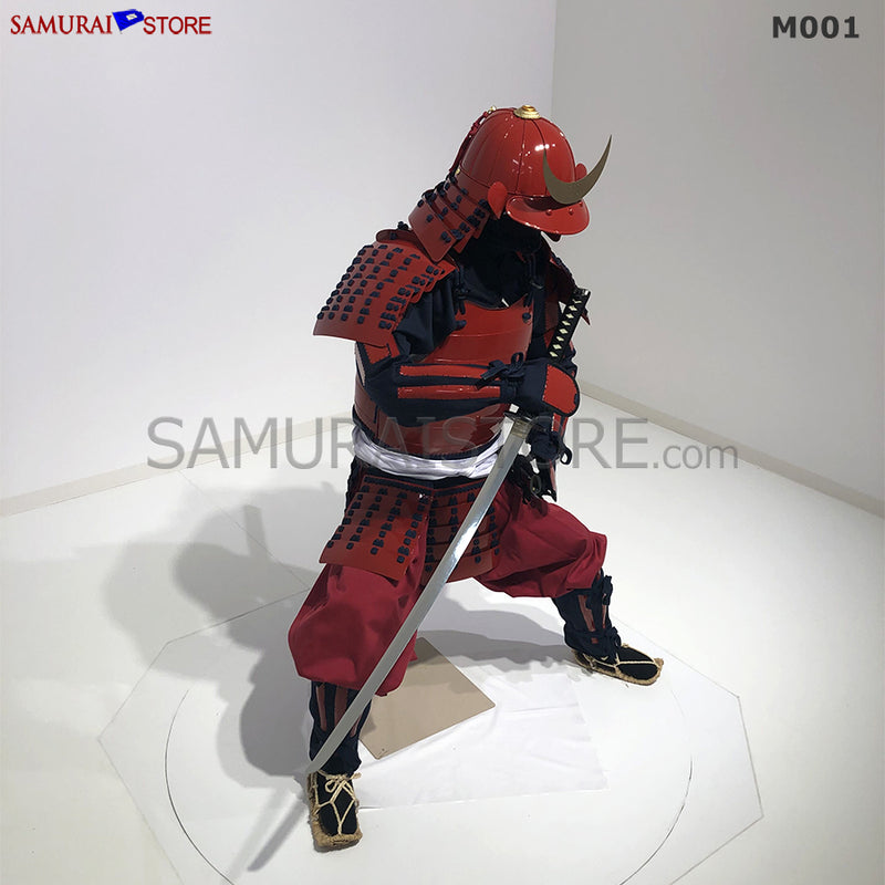 M001 Samurai Armor Warrior Complete Outfits Package RED - [SAMURAI STORE]
