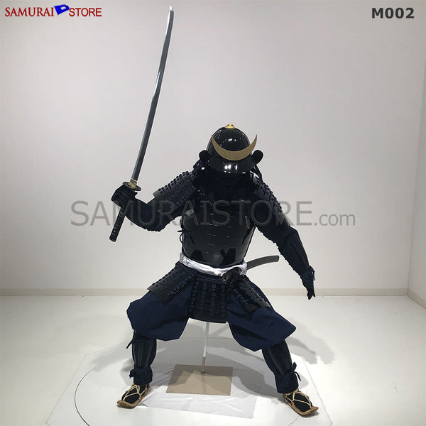 M002 Samurai Armor Warrior Complete Outfits Package BLACK - SAMURAI STORE