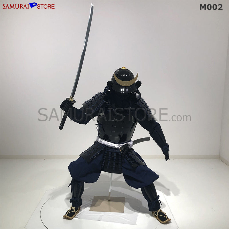 M002 Samurai Armor Warrior Complete Outfits Package BLACK