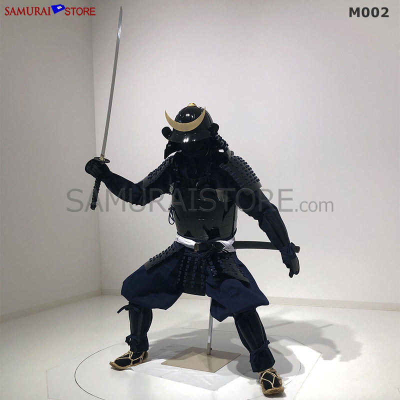 M002 Samurai Armor Warrior Complete Outfits Package BLACK - [SAMURAI STORE]