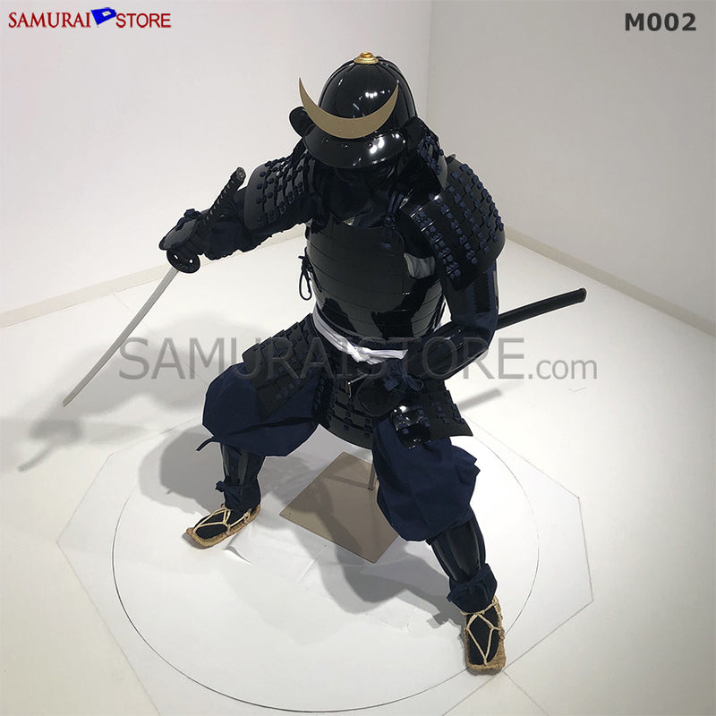 (Ready-To-Ship) M002 Samurai Warrior Complete Outfits Package BLACK - SAMURAI STORE