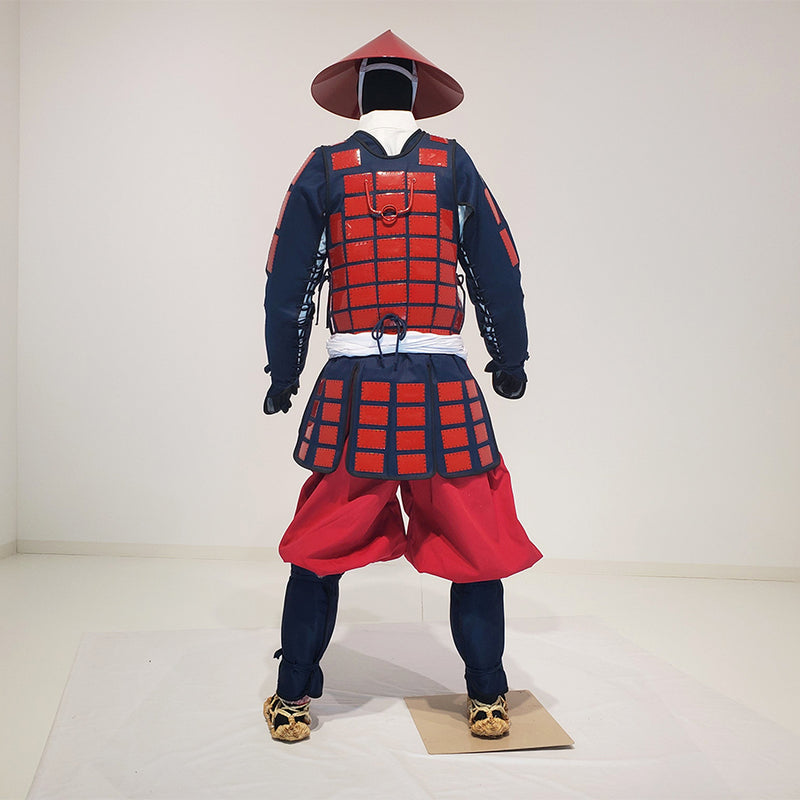 M003 Tatami Karuta folding Armor Complete Outfits Package RED - [SAMURAI STORE]