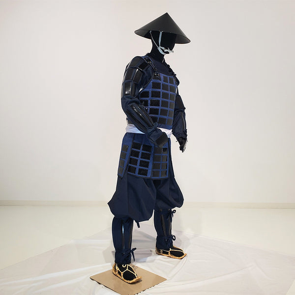 M004 Tatami Karuta folding Armor Complete Outfits Package BLACK - [SAMURAI STORE]