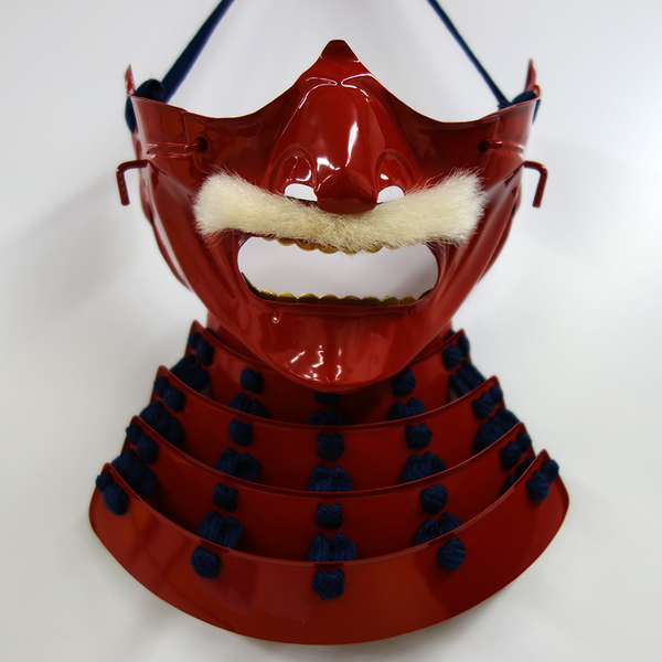Mempo Mask Basic RED & BLUE (Ready-To-Ship) - [SAMURAI STORE]