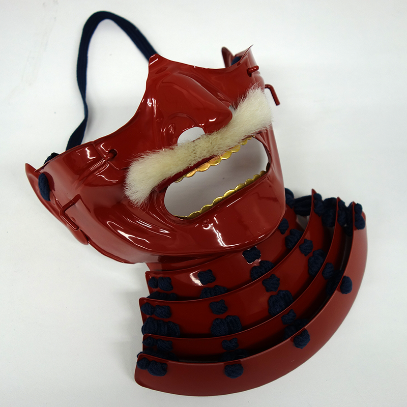 Mempo Mask Basic RED & BLUE (Ready-To-Ship)