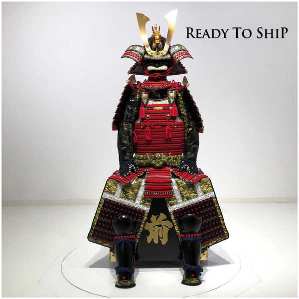 (Ready-To-Ship) N014 Luxurious Red Armor KURENAI - SAMURAI STORE