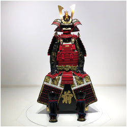 N014 Luxurious Red Armor KURENAI - SAMURAI STORE
