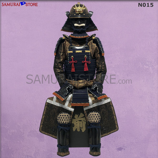 (Ready-To-Ship) N015 Akoda Black Suit of Armor - SAMURAI STORE