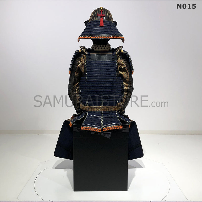 N015 Akoda Black Suit of Armor - SAMURAI STORE