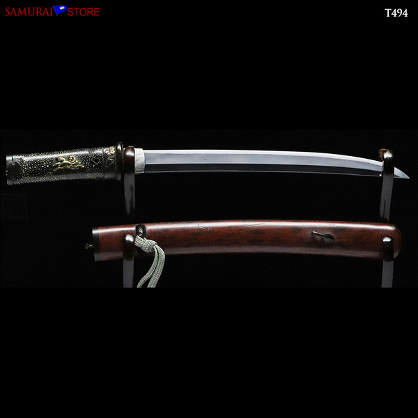 T494 Tanto Short Sword dagger - Antique - SAMURAI STORE