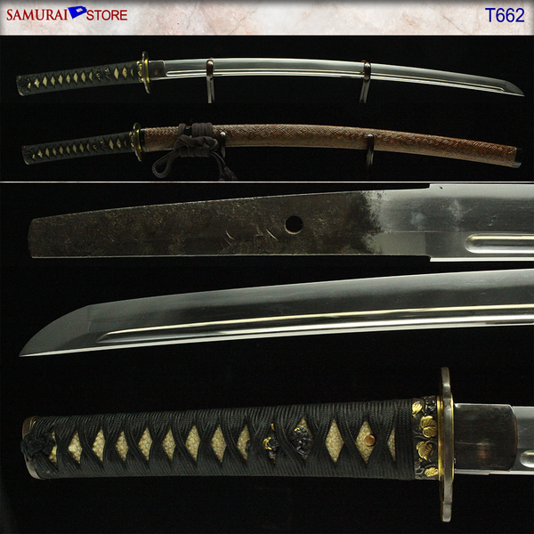 T662 Katana Sword KANESHIGE - Antique