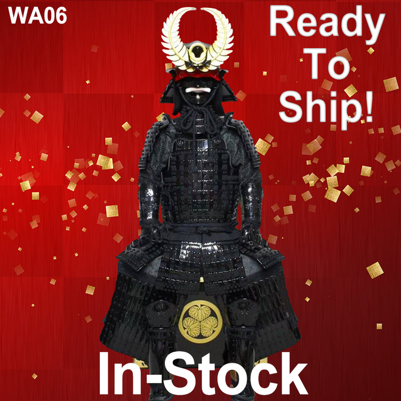 (Ready-To-Ship) Tokugawa Ieyasu Warlord Suit of Armor - SAMURAI STORE