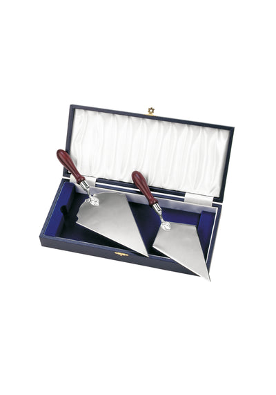Nickle Plated Trowel With Rosewood Handles - N175