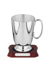 One Pint Silver Plated Tankard