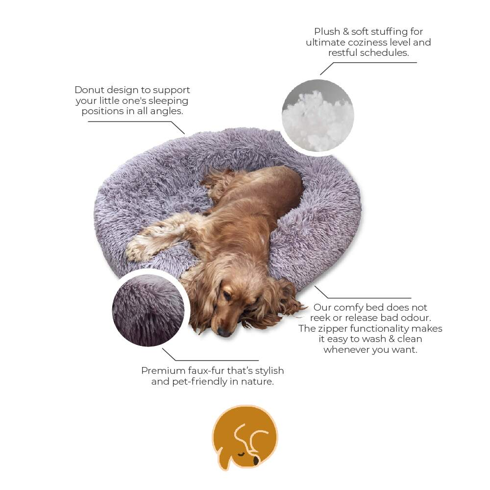 Calming Dog Bed UK Features - Calmingpet.co