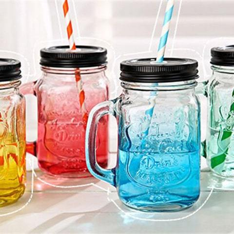 Mason Jar Couleur - Smoothie Jar