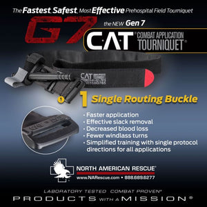 North American Rescue Combat Application Tourniquet (C-A-T or CAT) was awarded one of the top 10 greatest inventions by the us army