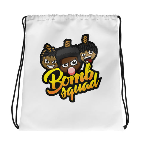 TNT Bomb Squad Drawstring bag