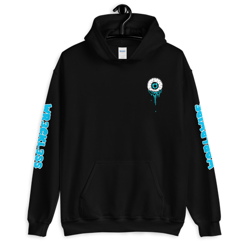 Melting Eye Hoodie (Aquatic Blue)