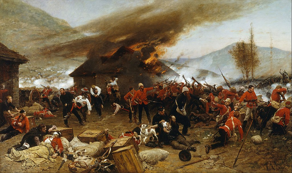 Battle of Isandlwana painting