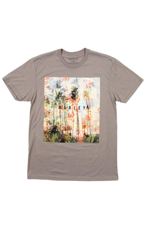 Marley Apparel Palm Photo Print T-Shirt