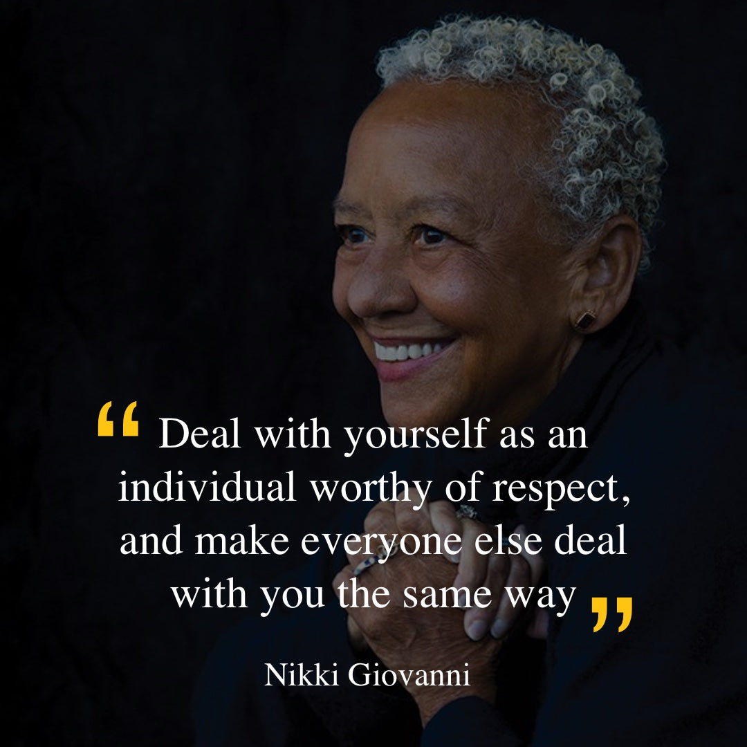 Nikki Giovanni quote