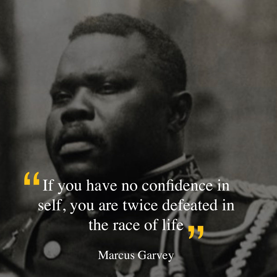 Marcus Garvey - race in life quote
