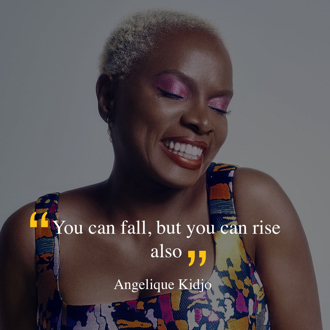 Angelique Kidjo and quote